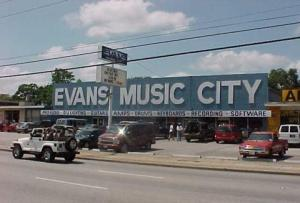 Evans Music City, Houston, Texas