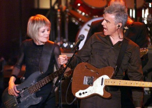 TALKING HEADS PERFORM AT ROCK AND ROLL HALL OF FAME INDUCTION